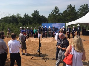Groundbreaking ceremony in Augusta GA - CT Darnell and Gray Television